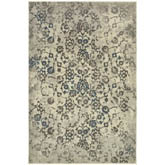 Oriental Weavers Pasha 5502H Beige and Grey
